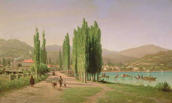 Capital Of Georgia Photograph - Sukhum-kale Oil On Canvas by Piotr Petrovitch Weretshchagin