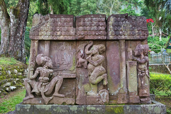 Central Asia Photograph - Sukuh Temple, Solo, Java, Indonesia by Keren Su