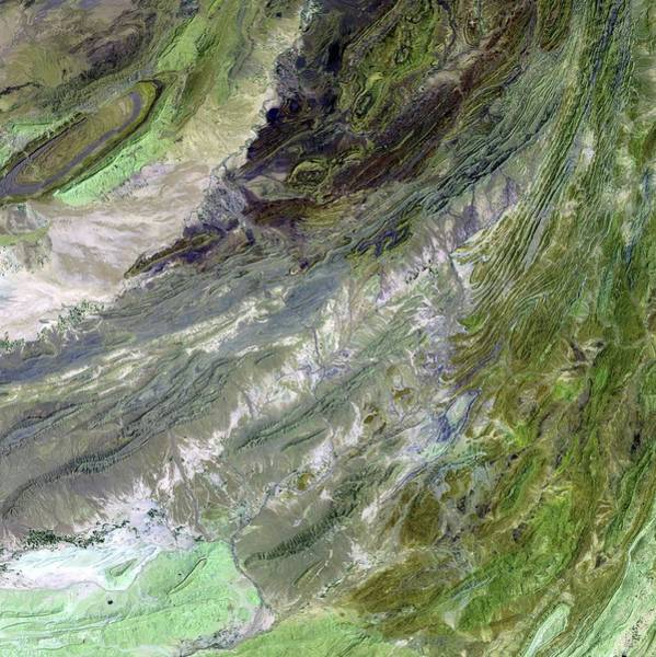 Wall Art - Photograph - Sulaiman Mountains by Nasa/science Photo Library