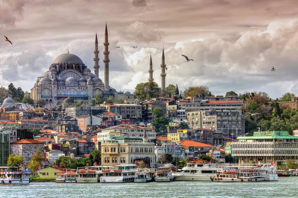 Suleymaniye Mosque Photograph - Suleymaniye Mosque, Fourth Imperial by George Tsafos