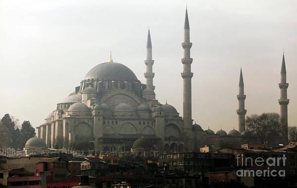 Suleymaniye Mosque Photograph - Suleymaniye Mosque by John Rizzuto