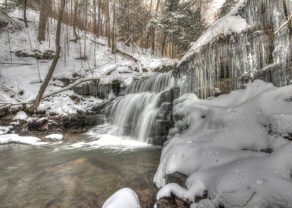 Sullivan County Photograph - Sullivan Run Waterfall 3 by Lori Deiter