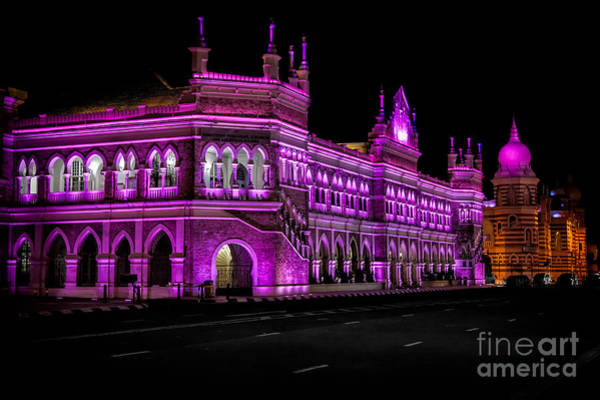 Wall Art - Photograph - Sultan Abdul Samad Building by Adrian Evans