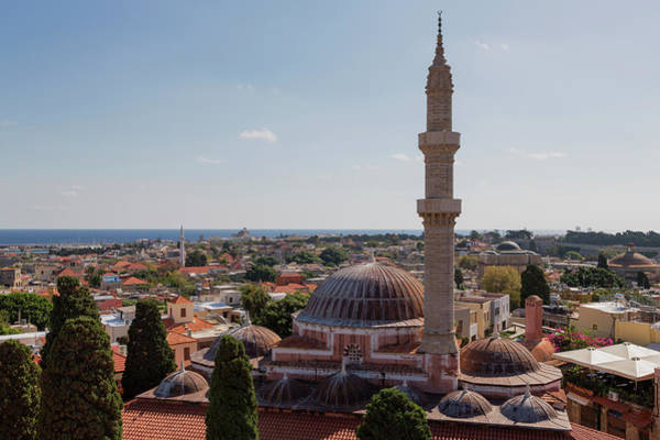 Dodecanese Photograph - Sultan Suleyman Cami Mosque by Martin Child