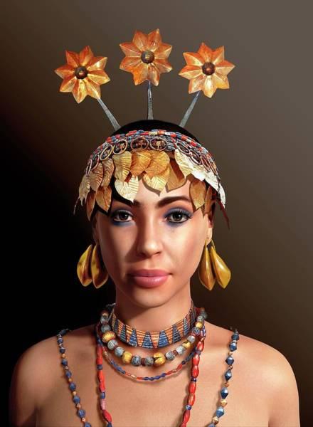 Wall Art - Photograph - Sumerian Royal Woman by Jose Antonio Penas/science Photo Library