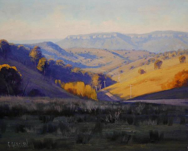 Australia Painting - Summer Afternoon by Graham Gercken