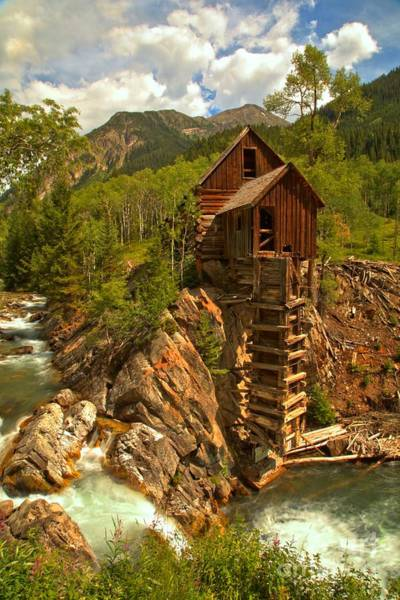 Photograph - Summer At Crystal Mill by Adam Jewell