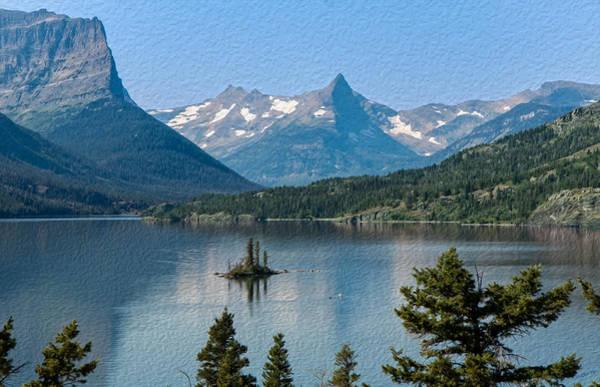 Photograph - Summer At Glacier National Park by John M Bailey
