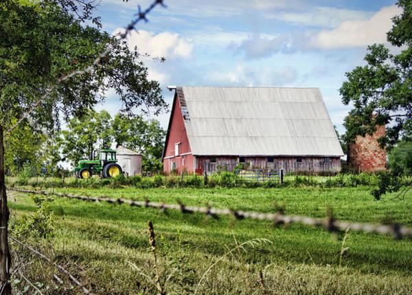 Photograph - Summer Barn by Cricket Hackmann