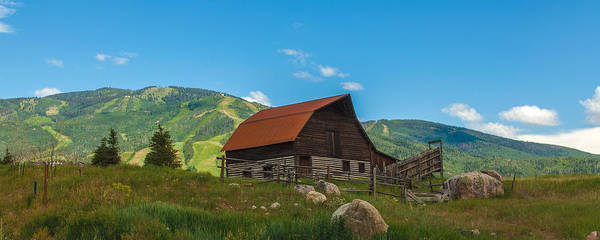 Photograph - Summer Barn by Kevin  Dietrich