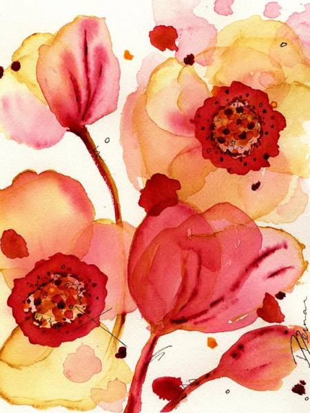 Painting - Poppies by Dawn Derman