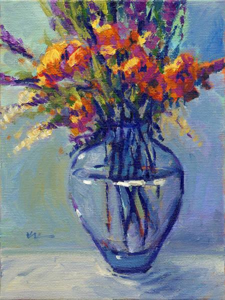 Painting - 520702 Konnie Kim_summer Bouquet 1 by Konnie Kim