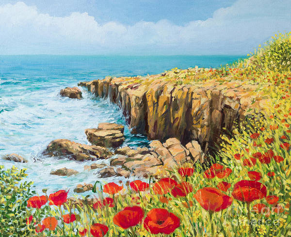 Wall Art - Painting - Summer Breeze by Kiril Stanchev