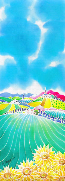 Painting - Summer Colors by Hisayo Ohta