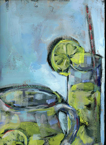 Lemonade Wall Art - Painting - Summer Day  2 by Pamela J. Wingard