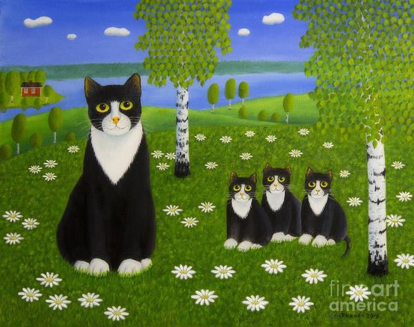 Painterly Painting - Summer Day by Veikko Suikkanen