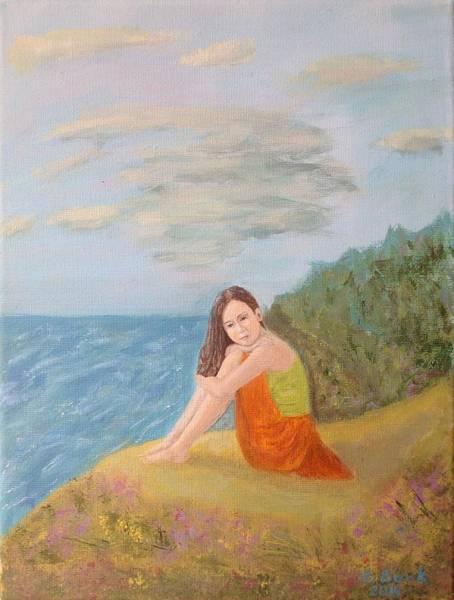 Gitana Wall Art - Painting - Summer Daydream by Gitana Banks