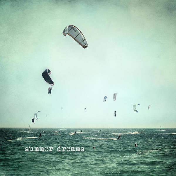 Kite Wall Art -  - Summer Dreams Kite Surf by Guido Montanes Castillo