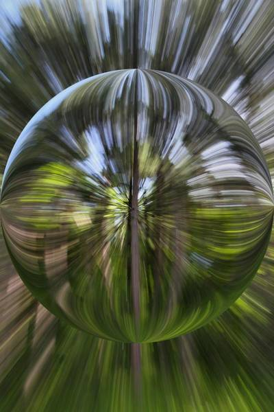 Orb Photograph - Summer Explosion Orb by Dan Sproul