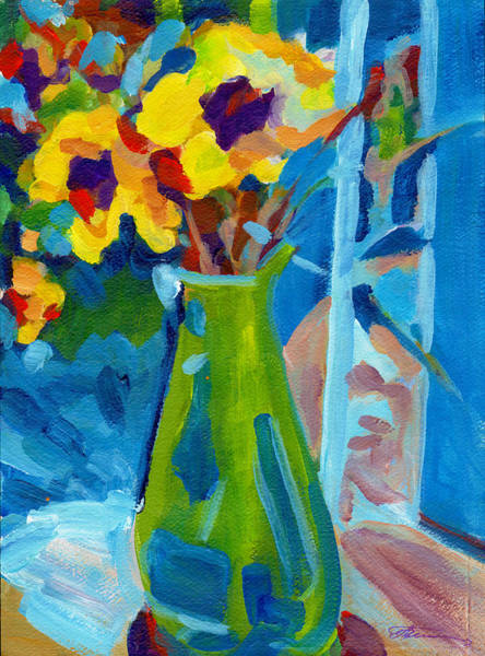Painting - Summer Flowers by Tanya Filichkin