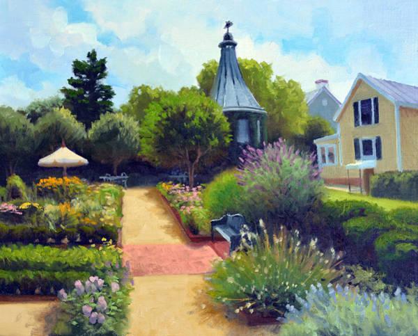 Inn Wall Art - Painting - Summer Garden by Armand Cabrera