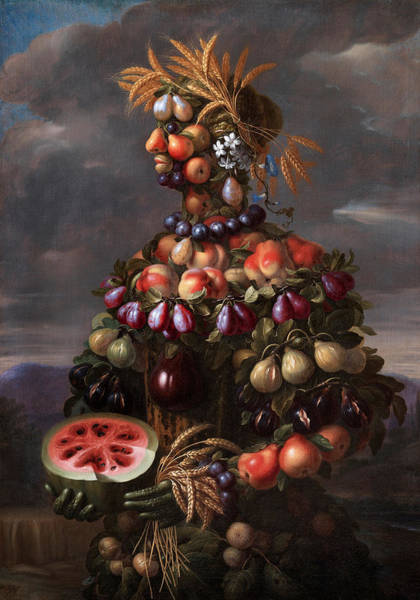 Potato Painting - Summer by Giovanni Stanchi