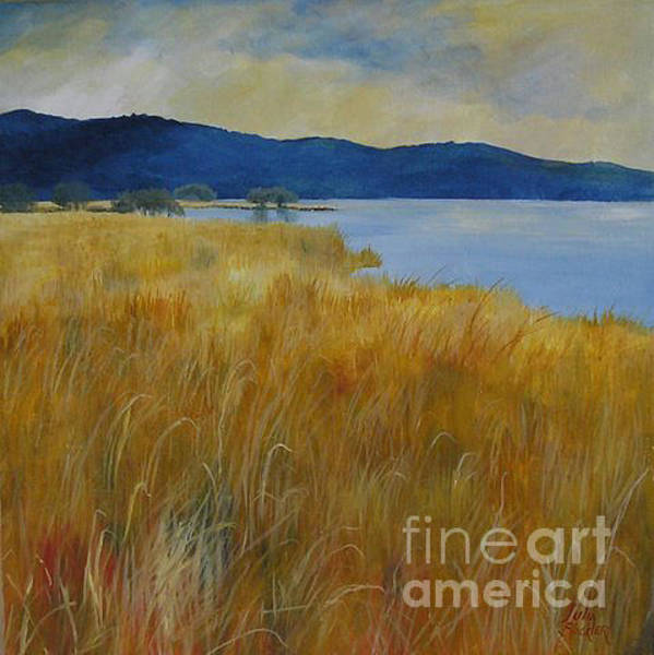 Painting - Summer Grasses by Julia Blackler