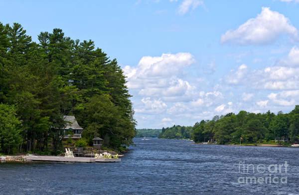Photograph - Summer Homes On Moon River by Les Palenik