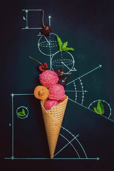 Cherry Photograph - Summer Homework by Dina Belenko
