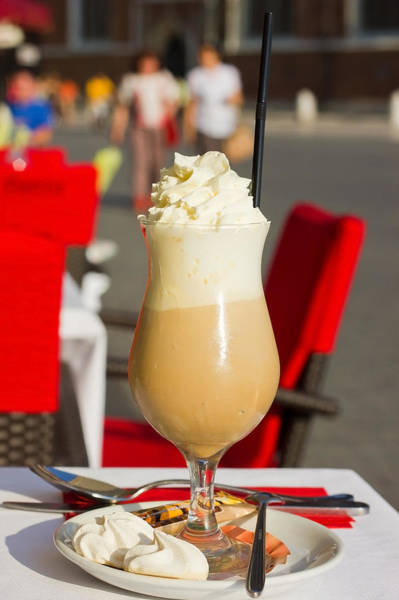 Milk Shake Photograph - Summer Iced Coffee by Pati Photography