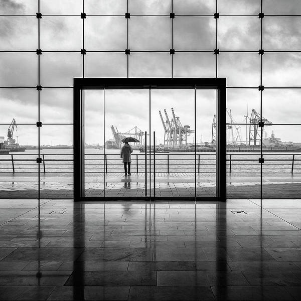 Grid Photograph - Summer In Hamburg by Alexander Sch?nberg