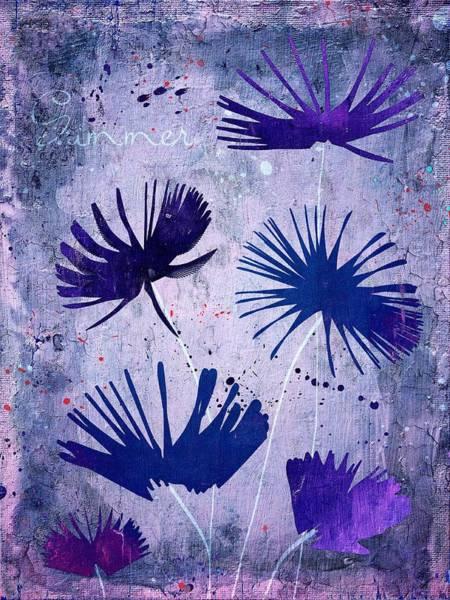 Fleur Digital Art - Summer Joy - 25c2 by Variance Collections
