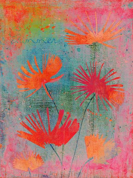 Fleur Digital Art - Summer Joy - 44bb by Variance Collections