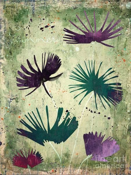 Fleur Digital Art - Summer Joy - S18cc by Variance Collections