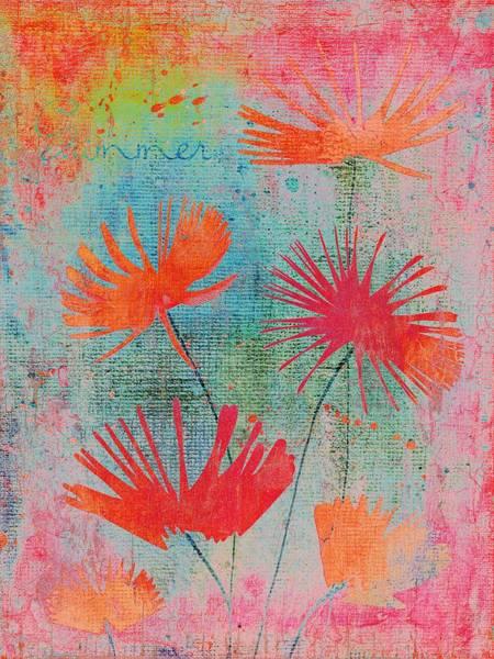 Fleur Digital Art - Summer Joy - S44a by Variance Collections