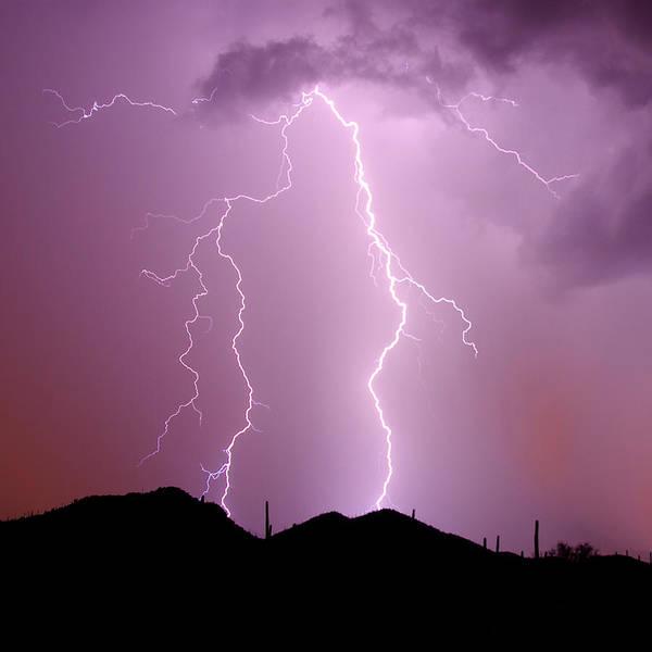 Wall Art - Photograph - Summer Lightning II by Douglas Taylor