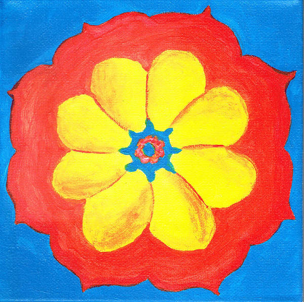 Painting - Summer Mandala by Beth  Cornell