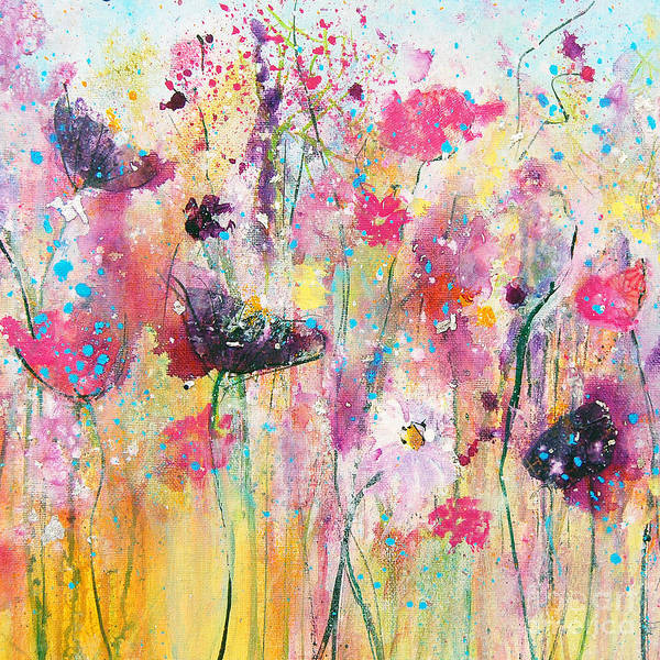 Painting - Summer Meadow by Tracy-Ann Marrison
