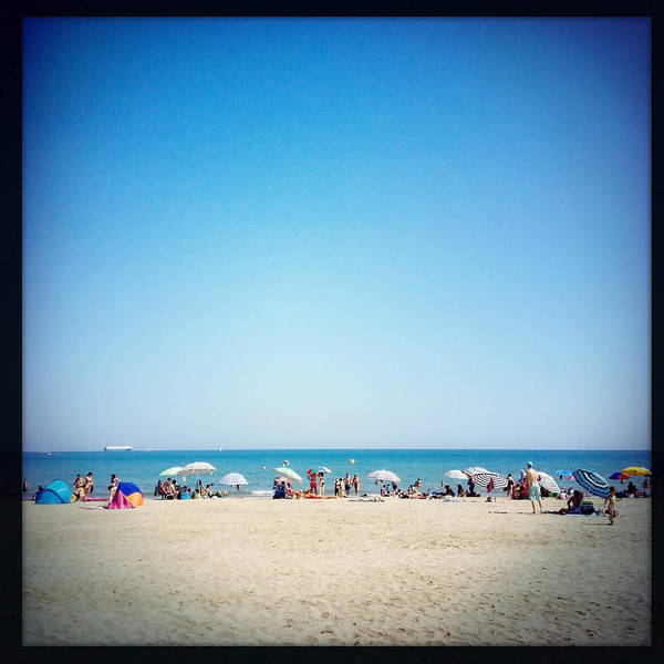 Beach Holiday Photograph - Summer Meeting Point by Papapol