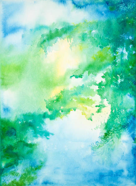 Painting - Summer Morning On The Lake by Michelle Constantine