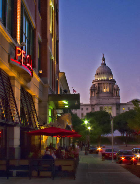 Photograph - Summer Night In Providence by Nancy De Flon