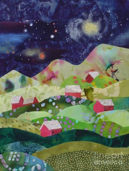 Spring Mountains Mixed Media - Summer Night by Susan Minier