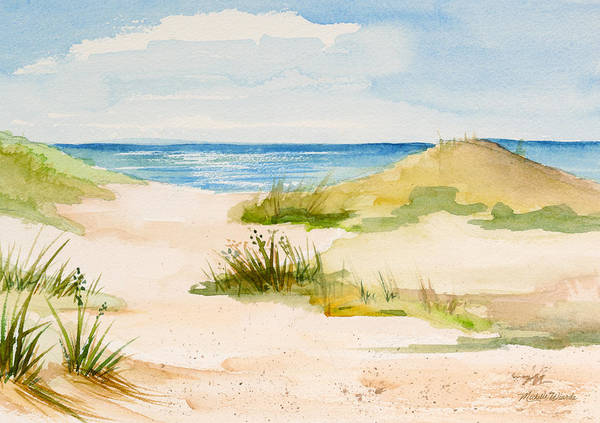 Summer On Cape Cod Art Print