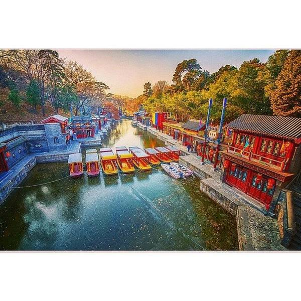 Summer Palace Beijing Art Print