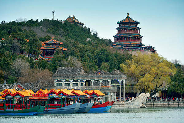 Photograph - Summer Palace by Songquan Deng
