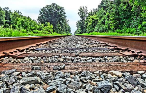 Photograph - Summer Railroad Tracks by Dan Sproul