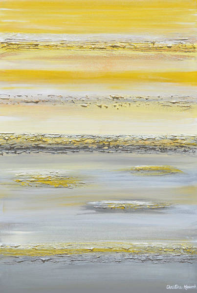 Wall Art - Painting - Summer Reflections by Christine Bell