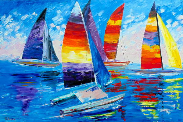 Summer Regatta Art Print