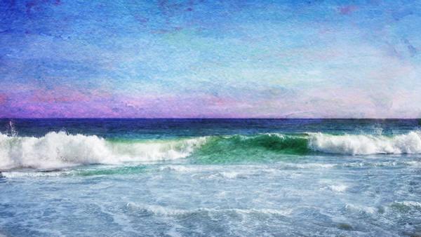 The Wave Photograph - Summer Salt by Laura Fasulo
