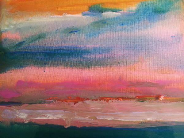 Summer Seascape Art Print